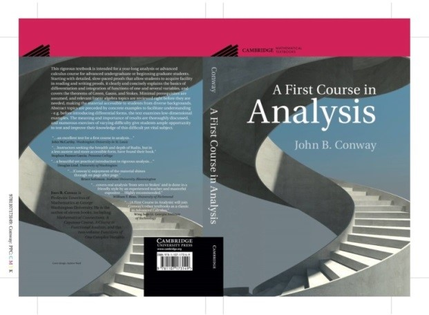 A First Course in Analysis  cover