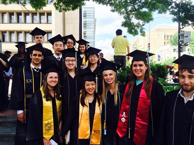 Our math majors who graduated in May 2014