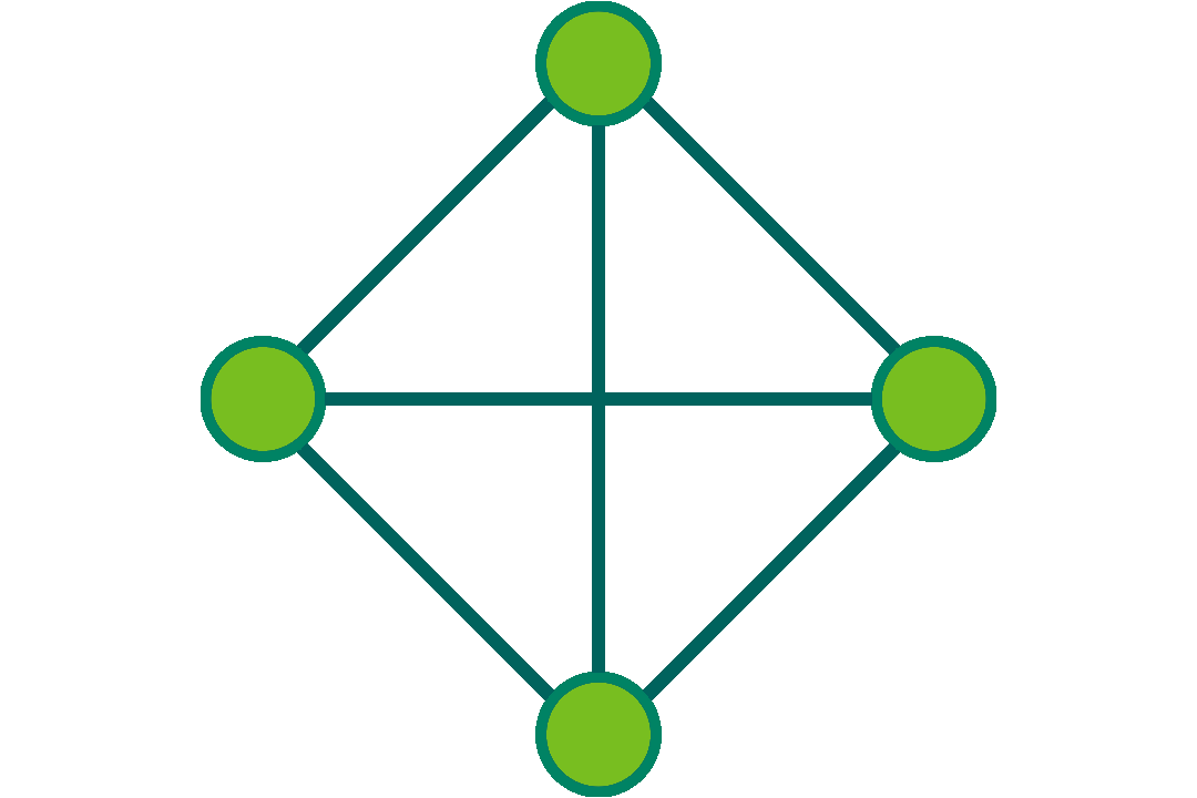 icon of a network of combinations